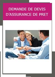 Demande de devis d'assurance de prêt